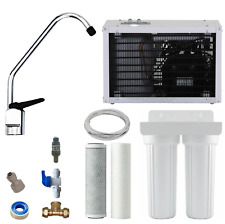 Undersink Chilled Water Filter System IC8 / 2 Stage Housing Carbon Cooler Kit
