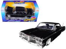 1/24 Jada 1964 Chevrolet Impala Lowrider Series Street Low Diecast Black 98931