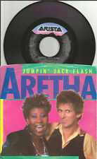 KEITH RICHARDS ARETHA FRANKLIN Jumpin Jack Flash 7 INCH vinyl 45 Rolling Stones