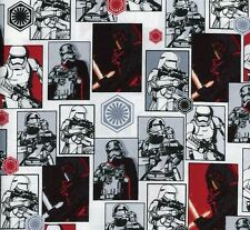 STAR WARS - THE FORCE AWAKENS - Cards - Multi - Fabric - 1/2 Yard