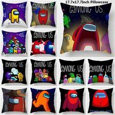 AMONG Us Game Anime throw pillow cases sofa Cushion Cover set Playroom Decor kid