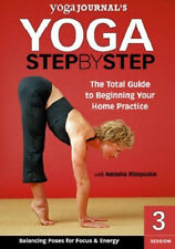 Yoga Journal's Yoga Step by Step Session 3 Balancing Poses DVD New