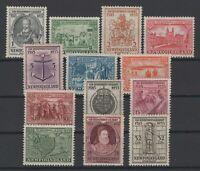 G129769/ NEWFOUNDLAND / CANADA / SG # 236 / 242 – 244 / 249 MINT MH – CV 170 $