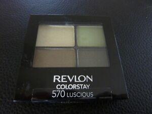 Revlon ColorStay 16 Hr Eye Shadow Quad - LUSCIOUS #570 - Brand New /READ DESCRIP