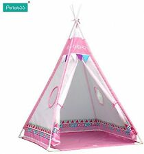 Pericross Kids Teepee Play Tents Children Wigwam Tent (Pink)