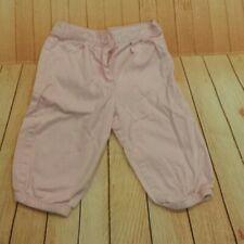 Carter's pink girls pants size 6-9m