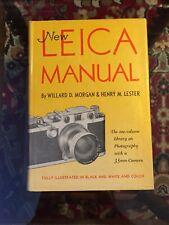 New Leica Manual by Willard D. Morgan & Henry M. Lester 1953 Hc Dj 35mm Camera