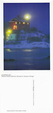MARQUETTE HARBOR LIGHTHOUSE MICHIGAN UNITED STATES UNUSED COLOUR POSTCARD