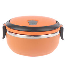 Stainless steel Thermal lunch box multi-layer round student lunch bo TDC