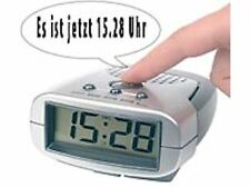 qui parle Réveil numérique Radio-réveil aveugle Annonce de temps Service