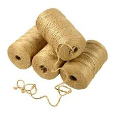 100m DIY Bohemia Cotton Twisted Cord Rope Crafts Macrame String Christmas