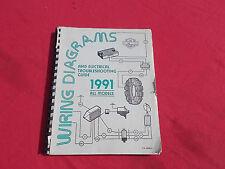 1991 HARLEY-DAVIDSON WIRING DIAGRAM & ELECTRICAL TROUBLESHOOTING MANUAL