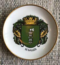 """Ottlinger Sevelen Teller """"St. Gallen"""" Wappen Schweiz Switzerland Plate Wand TOP!"""
