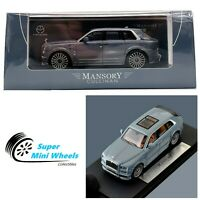 Time Model 1:64 Rolls Royce Mansory Cullinan 2020 (Gray)