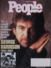 "GEORGE HARRISON 1943-2001 ""THE QUIET BEATLE"" December 2001 PEOPLE Magazine"