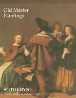 Sotheby's Sale 7199 Old Master Paintings Auction Catalog 1998