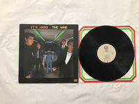The Who It's Hard 1982 Original LP Vinyl Record Album Warner Bro's 23731 33 RPM