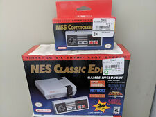 NES Classic Edition Nintendo Entertainment System + Controller - 100% Authentic