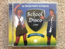 Various Artists - School Disco.com (Spring Term) (CD 2002) 40 Party Anthems