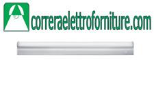 STONE 1508/N Reglette lampada plafoniera schiacciata LED 16W 4000K 1600 Lumen