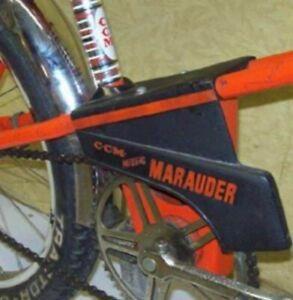 VTG Original CCM Mustang Marauder Orange Chain Guard muscle bike banana Rider