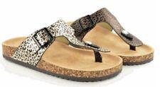 Damen Bio Rock Toepost Sandale Tiermotiv Design neue weiche gepolsterte Fußbett