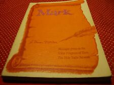 Vintage 1980 Thru the Bible  (Book of Mark Chapter 1-16)   J.Vernon McGee     K8