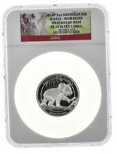 2016 Australia Koala High Relief FDI PF70 Ultra Cameo 5 oz Silver  $8