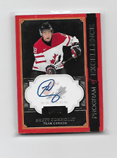 BRETT CONNOLLY 2013-14 UD THE CUP PROGRAM OF EXCELLENCE AUTO 04/10 RARE CANADA