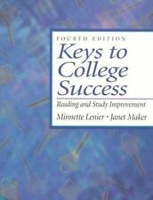 Keys to College Success: Reading and Study Improvement (4th Edition) Book