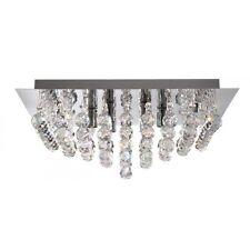 Searchlight Lighting 6406-6CC Hanna Square Flush Chrome 6 Light Fitting