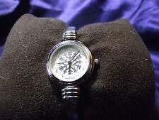 Woman's Quartz Snowflake Cuff  Watch **Nice** B17-Box 03