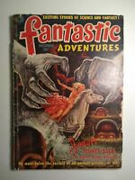 FANTASTIC ADVENTURES DECEMBER 1951 US PULP MAGAZINE