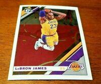 2019-20 Donruss Optic LeBron James Optic Base #60 Los Angeles Lakers