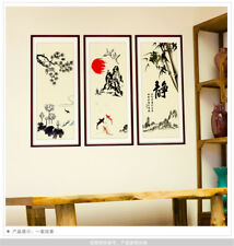 Chinese Ink And Wash Room Home Decor Removable Wall Stickers Decals Decoration