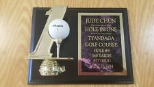 Hole in One Golf Plaque Custom Engraved SUPER FAST SHIP