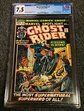 MARVEL SPOTLIGHT #5 CGC 7.5 WHITE PAGES 1st Ghost Rider