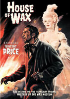House of Wax (1953) / The Mystery of the Wax Museum DVD NEW