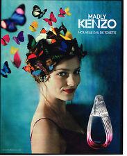 PUBLICITE ADVERTISING 094  2012  KENZO  parfumeur la nouvelle eau de toilette