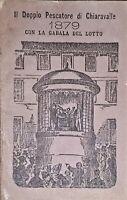 Giornale Astronomico Il Doppio Pescatore di Chiaravalle Cabala del Lotto 1879