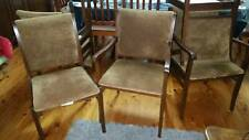 DINING CHAIRS x 4 (incl) 2 CARVERS