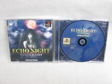 ECHO NIGHT #2 Nemuri Shihaisha PS1 Playstation Japan Game p1