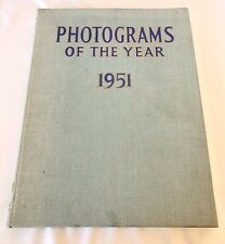 Vintage 1951 Photograms of the Year Annual Review of Photographic Art Book