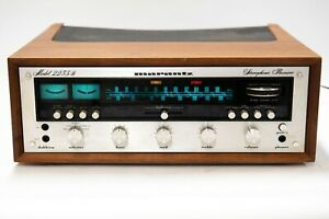 Marantz 2235B Stereophonic Receiver with Walnut Case Vintage