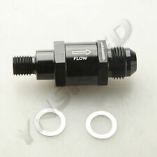 -8AN One Way Check Valve For Bosch Style Fuel Pump M12x1.5MM To AN8 AN-8