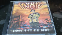 YOUNG KNOW - Takin' It To The Next 1997 OG CD OOP Sealed BAY CALI Gee-Funk RARE!