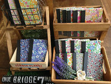 Handmade Liberty Fabric Notebook - 10p extra postage for each additional (UK)