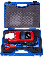 A-BTT3 Digital Battery Tester with Printer 12V Analyzer, LCD Display Diagnostic