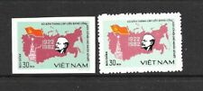 NORTH VIET NAM Sc 1247 NH PERF & IMPERF issue of 1982 - USSR