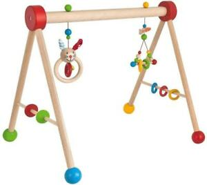 Eichhorn 100017034 Baby Gym Spieltrapez Spielbogen Trapezspiel Spielcenter Holz